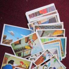 Coleccionismo Cromos antiguos: LOTE 25 CROMOS MÁGICA AVENTURA - EDITADOS POR RUIZ ROMERO EN 1974 DIFERENTES Y NUEVOS. Lote 39966912