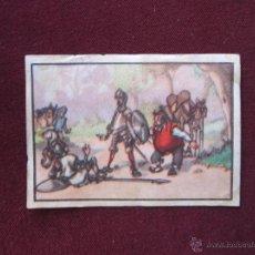 Coleccionismo Cromos antiguos: DON QUIJOTE DE LA MANCHA - CROMO Nº 101 - CHOCOLATES LLOVERAS. Lote 39967057