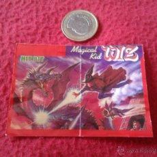 Coleccionismo Cromos antiguos: CROMO BOLLYCAO AÑOS 80 MSX HIT-BIT JUEGOS DE ORDENADOR NUNCA PEGADO MAGICAL KID WIZ DIFICIL SONY. Lote 40279879