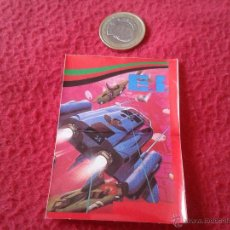 Coleccionismo Cromos antiguos: CROMO BOLLYCAO AÑOS 80 MSX HIT-BIT SONY JUEGOS DE ORDENADOR NUNCA PEGADO DIFICIL EI EL. Lote 40280011