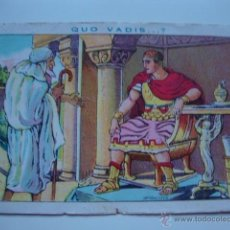 Coleccionismo Cromos antiguos: ANTIGUO CROMO COLECCION CHOCOLATES AMATLLER QUO VADIS 9. Lote 195361125