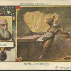 Coleccionismo Cromos antiguos: GRANDES INVENTOS - COLECCION COMPLETA 20 CR. - PUBLICIDAD VARIAS MARCAS - VER FOTOS -(CR-284) . Lote 40528091