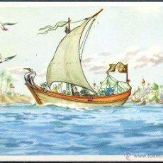 Coleccionismo Cromos antiguos: CROMOS CHOCOLATES VALOR - HISTORIA DE SINDBAD EL MARINO Nº 3. Lote 40575729