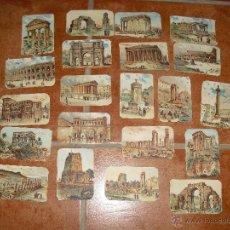 Coleccionismo Cromos antiguos: LOTE CROMOS ANTIGUOS MONUMENTOS ANTIGUOS. Lote 40711088