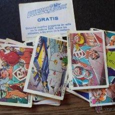 Coleccionismo Cromos antiguos: BURMAR FLAX LOTE DE CROMOS ANTIGUOS . Lote 40857405