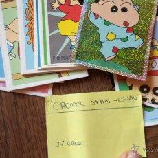 Coleccionismo Cromos antiguos: SHIN CHAN CROMOS 19 UNIDADES . Lote 40857695