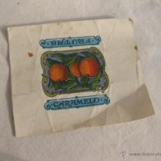 Coleccionismo Cromos antiguos: ENVOLTORIO ANTIGUO DE CARAMELO.. Lote 41233561
