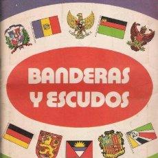 Coleccionismo Cromos antiguos: BANDERAS Y ESCUDOS - EDICIONES EYDER - LOTE DE 146 CROMOS DIFERENTES + 700 REPETIDOS-. Lote 165858140
