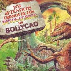 Sammeln alte Sammelbilder - LOS AUTÉNTICOS CROMOS DE LOS DINOSAURIOS DE BOLLYCAO - ÁLBUM INCOMPLETO - 41449584