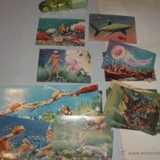 Coleccionismo Cromos antiguos: 25 CROMOS DIFERENTES DEL ALBUM EL MUNDO SUBMARINO FERMA. Lote 42147795