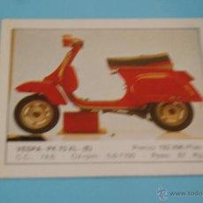 Coleccionismo Cromos antiguos: CROMO DE:MOTOS,VESPA,(DESPEGADO),Nº140,DEL ALBUM MOTOS,DE MOTOR 16,EDICIONES UNIDAS. Lote 138098004