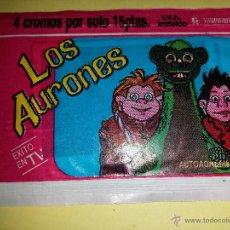 Coleccionismo Cromos antiguos: CROMO LOS AURONES SOBRE CERRADO 4 CROMOS. Lote 142457166