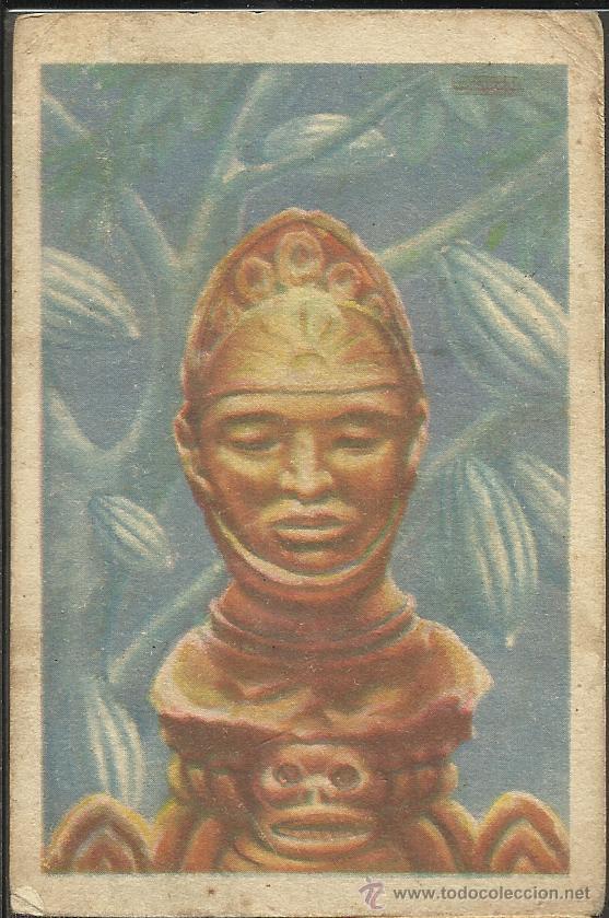 HISTORIA DEL CACAO Y DEL CHOCOLATE - COMPLETA 24 CROMOS-CHOCOLATES BUBI-COLONIAL DE AFRICA- (CR-315) (Coleccionismo - Cromos y Álbumes - Cromos Antiguos)