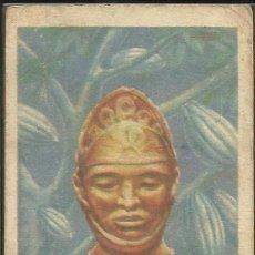 Coleccionismo Cromos antiguos: HISTORIA DEL CACAO Y DEL CHOCOLATE - COMPLETA 24 CROMOS-CHOCOLATES BUBI-COLONIAL DE AFRICA- (CR-315). Lote 42331092