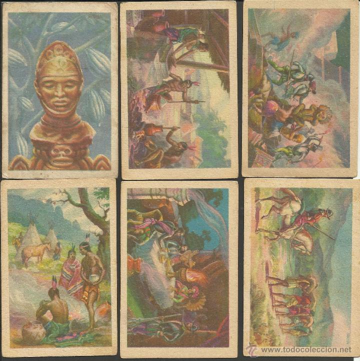 Coleccionismo Cromos antiguos: HISTORIA DEL CACAO Y DEL CHOCOLATE - COMPLETA 24 CROMOS-CHOCOLATES BUBI-COLONIAL DE AFRICA- (CR-315) - Foto 2 - 42331092