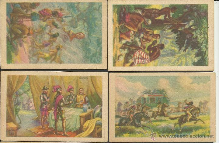 Coleccionismo Cromos antiguos: HISTORIA DEL CACAO Y DEL CHOCOLATE - COMPLETA 24 CROMOS-CHOCOLATES BUBI-COLONIAL DE AFRICA- (CR-315) - Foto 3 - 42331092