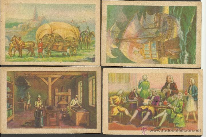 Coleccionismo Cromos antiguos: HISTORIA DEL CACAO Y DEL CHOCOLATE - COMPLETA 24 CROMOS-CHOCOLATES BUBI-COLONIAL DE AFRICA- (CR-315) - Foto 4 - 42331092
