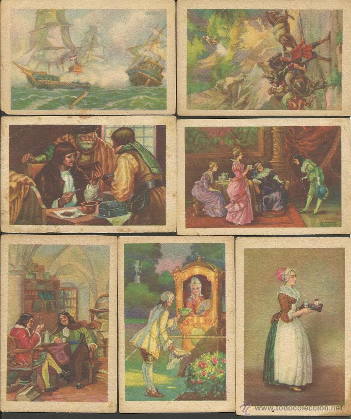 Coleccionismo Cromos antiguos: HISTORIA DEL CACAO Y DEL CHOCOLATE - COMPLETA 24 CROMOS-CHOCOLATES BUBI-COLONIAL DE AFRICA- (CR-315) - Foto 5 - 42331092