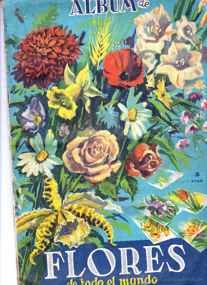LOTE DE CROMOS. CROMOS SUELTOS; 1,00 €. ÁLBUM DE FLORES DE TODO EL MUNDO. EDITORIAL FHER, 1961. (Coleccionismo - Cromos y Álbumes - Cromos Antiguos)