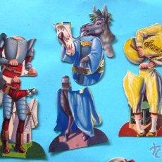 Coleccionismo Cromos antiguos: COLECCIÓN COMPLETA DE 10 FIGURAS COMPUESTAS DE 3 CROMOS CADA UNA. CHOCOLATES EVARISTO JUNCOSA HIJO.. Lote 42480714