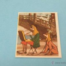 Coleccionismo Cromos antiguos: CROMO DE:101 DALMATAS,(DESPEGADO),Nº13,DEL ALBUM,101 DALMATAS,AÑO 1962,DE FHER . Lote 42643126