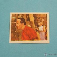 Coleccionismo Cromos antiguos: CROMO DE:TARZAN EL JUSTICIERO,(USADO,SIN PEGAR),Nº42,DEL ALBUM,TARZAN EL JUSTICIERO,DE R.R.. Lote 180308226