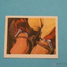 Coleccionismo Cromos antiguos: CROMO DE:TARZAN EL JUSTICIERO,(USADO,SIN PEGAR),Nº146,DEL ALBUM,TARZAN EL JUSTICIERO,DE R.R.. Lote 180308422