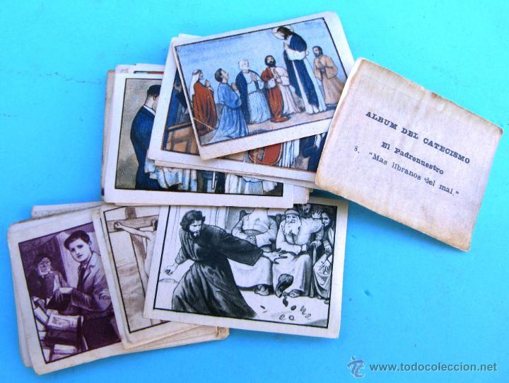LOTE DE CROMOS. CROMOS SUELTOS; 0,50 €. ÁLBUM DEL CATECISMO DE LA DOCTRINA CRISTIANA. Nº 1. 1940. (Coleccionismo - Cromos y Álbumes - Cromos Antiguos)