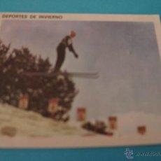 Coleccionismo Cromos antiguos: CROMO DE:ESQUI ALPINO,(DESPEGADO),Nº53,DEL ALBUM,CONTAMOS CONTIGO,AÑO 1968,DE COLED. Lote 198960676