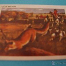 Coleccionismo Cromos antiguos: CROMO DE:CAZA MAYOR,(DESPEGADO),Nº77,DEL ALBUM,CONTAMOS CONTIGO,AÑO 1968,DE COLED. Lote 198960600