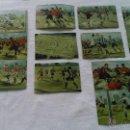 Coleccionismo Cromos antiguos: LOTE DE 12 CROMOS DEL BARÇA DE LOS AÑOS 30/40.SIN MARCA. CARTÓN DURO.. Lote 43244801