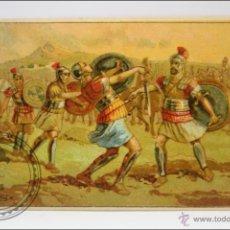 Coleccionismo Cromos antiguos: ANTIGUO CROMO - HISTORIA ROMANA. Nº 7 - MEDIDAS 10 X 7 CM. Lote 43358325