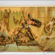 Coleccionismo Cromos antiguos: ANTIGUO CROMO - HISTORIA ROMANA. Nº 31 - MEDIDAS 10 X 7 CM. Lote 43358431