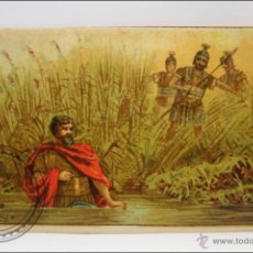 Coleccionismo Cromos antiguos: ANTIGUO CROMO - HISTORIA ROMANA. Nº 39 - MEDIDAS 10 X 7 CM. Lote 43358469