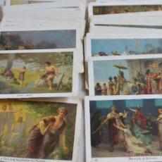 Coleccionismo Cromos antiguos: RAROS CROMOS HISTORIA SAGRADA DE EL CAFETO (TAMBIÉN CROMOS SUELTOS PREGUNTA TUS FALTAS 2€/UD). Lote 43488317