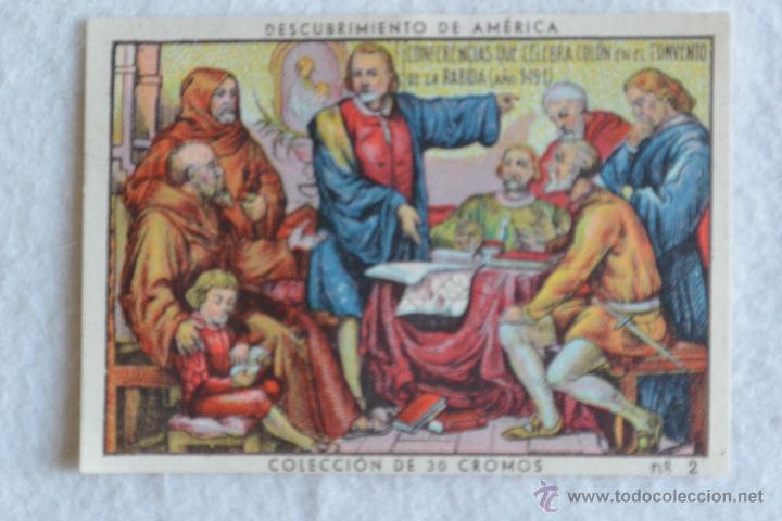 Coleccionismo Cromos antiguos: Colección cromos EL DESCUBRIMIENTO DE AMÉRICA - Foto 2 - 57573696
