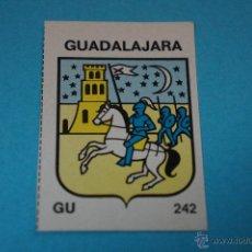 Coleccionismo Cromos antiguos: CROMO DE:ESPAÑA,ESCUDO GUADALAJARA,(SIN PEGAR),Nº242,DEL ALBUM,ESPAÑA GRAN ALBUM CULTURAL. Lote 207039993
