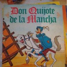 Coleccionismo Cromos antiguos: 1 CROMO ALBUM DON QUIJOTE DE LA MANCHA. DANONE. LEER. Lote 44214212