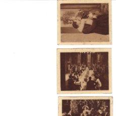 Coleccionismo Cromos antiguos: CROMOS LA MASCOTA - IMAGENES DE LA PELICULA DELIRIO DE GRANDEZAS - ARGUMENTO - RASTRILLO PORTOBELLO. Lote 44346993
