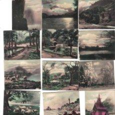 Coleccionismo Cromos antiguos: CROMOS LA MASCOTA - COLECCION DE FOTOGRAFIAS DE PAISAJES DEL MUNDO - RASTRILLO PORTOBELLO. Lote 44350813
