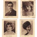 Coleccionismo Cromos antiguos: CROMOS LA MASCOTA - COLECCION DE FOTOGRAFIAS DE FAMOSOS - BIOGRAFIA - RASTRILLO PORTOBELLO. Lote 44350925