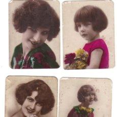 Coleccionismo Cromos antiguos: CROMOS LA MASCOTA- FÁBRICA DE TABACO - FOTOGRAFIA DE MUJERES BELLAS - RASTRILLO PORTOBELLO. Lote 44352063