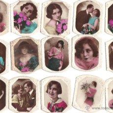 Coleccionismo Cromos antiguos: CROMOS CIGARRILLOS XXX - HABANO - FOTOGRAFIA DE MUJERES BELLAS Y DE PAREJAS - RASTRILLO PORTOBELLO. Lote 44352259