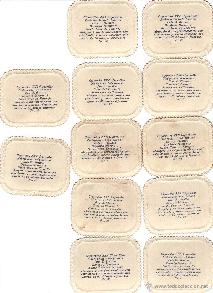 Coleccionismo Cromos antiguos: CROMOS CIGARRILLOS XXX -HABANO- FOTOGRAFIA DE MUJERES, NIÑOS, PAREJAS Y PERROS -RASTRILLO PORTOBELLO - Foto 2 - 44352457