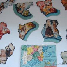 Coleccionismo Cromos antiguos: CROMOS PROVINCIAS ESPAÑOLAS CHOCOLATES JAIME BOIX. Lote 44438068