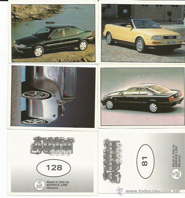 AUTO 2000 - 44 CROMOS - TAMBIEN SUELTOS (Coleccionismo - Cromos y Álbumes - Cromos Antiguos)