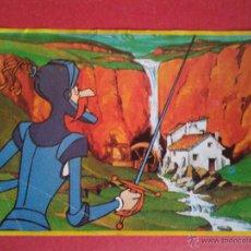 Coleccionismo Cromos antiguos: CROMO DANONE. DON QUIJOTE DE LA MANCHA. Nº 34. . Lote 44917784