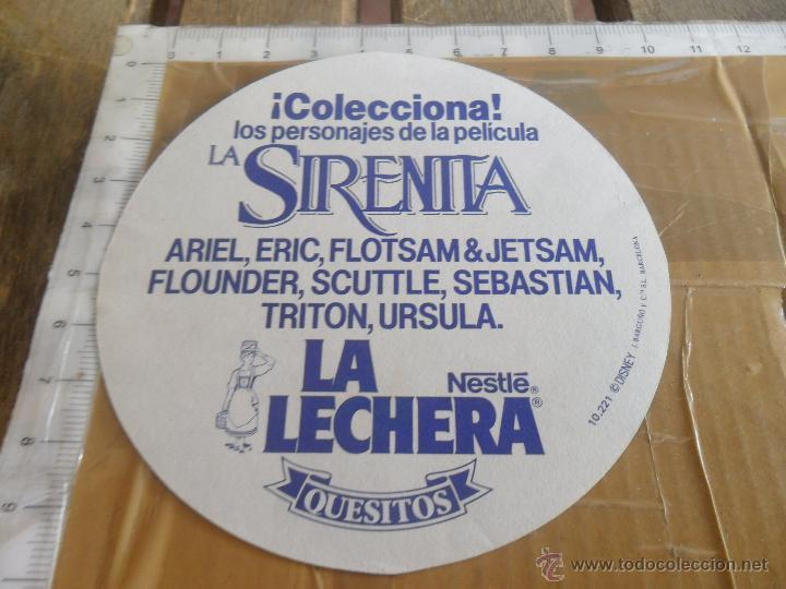 Coleccionismo Cromos antiguos: CROMO PEGATINA DE LA LECHERA LA SIRENITA - Foto 2 - 45465937