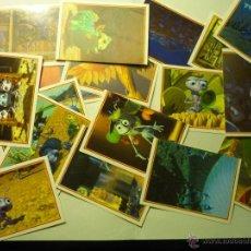 Coleccionismo Cromos antiguos: LOTE 50 CROMOS COLECCION BICHOS DE PANINI ¡¡. Lote 45618995