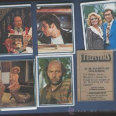 Coleccionismo Cromos antiguos: LOTE DE 6 CROMOS TELESTARS-EDICIONES ESTE- AÑO 1978.. Lote 45724103